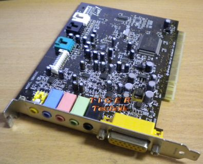 Creative SB0200 Soundkarte PCI 5.1 Digital Sound Blaster Live!* s42