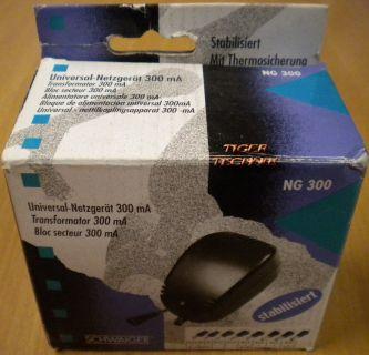 Schwaiger NG300 Universal-Netzgerät 300mA 3 V bis 12 V* nt716