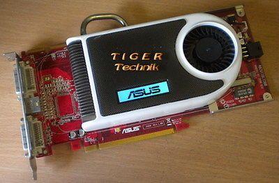 Asus EAX1950PRO ATI Radeon DDR3 256MB PCI-E Grafikkarte Win7* g13