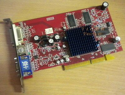 ATI Radeon 9600 Grafikkarte AGP8x 128MB HIS 4R8KA142 VGA TV-Out DVI g28