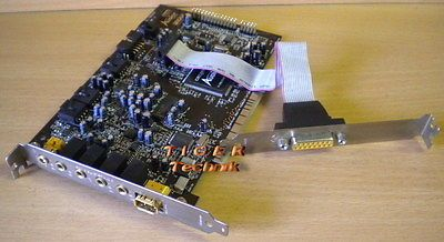 Creative SB0090 SB Live! Audigy SB1394 PCI Win7 s35
