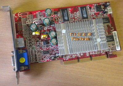 Gigabyte GV-AF64D ATI Radeon 9000 Grafikkarte AGP 4x 64MB DDR VGA TV-Out g44