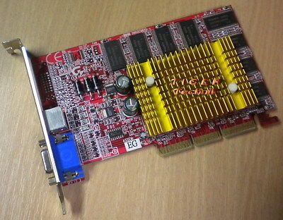 Gigabyte GV-AR64S Radeon 7500LE Grafikkarte AGP 4x 64MB DDR TV-Out VGA g51