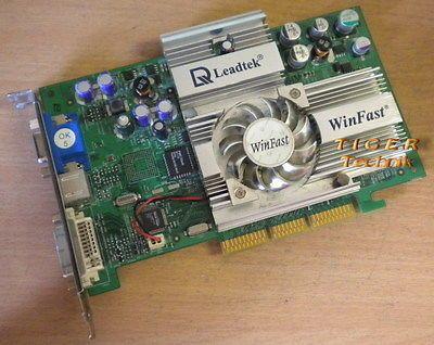 Leadtek WinFast A250LE GeForce4 Ti 4200 Grafikkarte AGP4x 64MB TVOut* g43