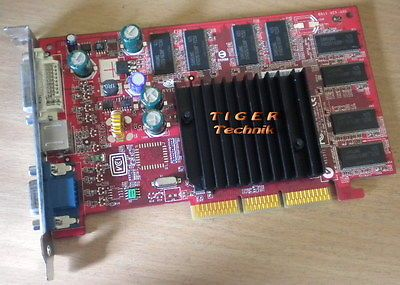 MSI MS-8911 GeForce FX5200 LE Grafikkarte AGP 8x 128MB DDR VGA TV-Out g47