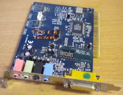 Hercules Muse XL LWHA521-T9 PCI Soundkarte 4.1 mit CMI8738 Chip* s14