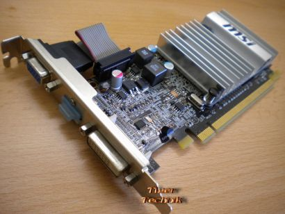MSI Radeon R5450-MD1GD3H,LP 1024MB DDR3 PCI Express x16 2.1 Grafikkarte*g220