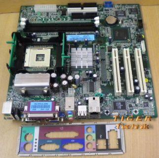 Dell CN-0F5949 Rev. A02 Dimension 2400 Mainboard Sockel 478 + Blende* m238