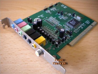 HSP-56 CMI8738 PCI-8ch HRTF 3D AUDIO PCI Computer Sound Karte* s56