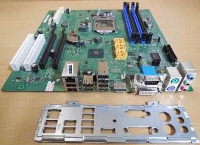Fujitsu D2912-A12 GS 1 Esprimo P9900 Mainboard +Blende Sockel 1156 PCIe x16*m317