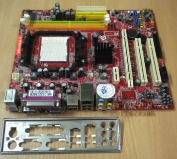 MSI K9N6SGM-V Mainboard MS-7309 Ver. 1.0 So. AM2+ PCI-E x16 + Blende* m353