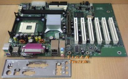Intel D845EBG2 Mainboard Sockel 478 AGP PCI USB LAN Seriell USB + Blende* m391