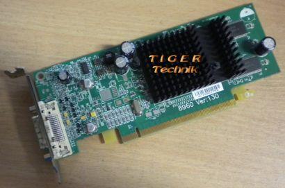 DELL P4007 ATI Radeon X 300 Passiv PCI-E x16 DVI PN: 109-A25900-00* g142