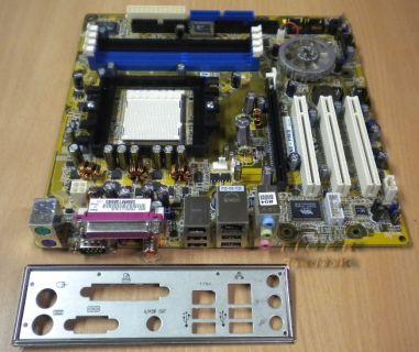 Asus A8NE-FM/S Rev 1.01A Sockel 939 PCI PCI-Ex16 FireWire LAN + Blende* m406