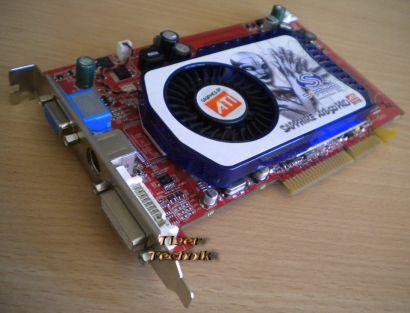 Sapphire 188-08C85-004SB ATI Radeon X1650 PRO DDR2 512MB AGPx8 DVI* g184