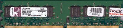 Kingston KVR667D2N5 1G PC2-5300 1GB DDR2 667MHz 99U5316-001 A02LF RAM* r321