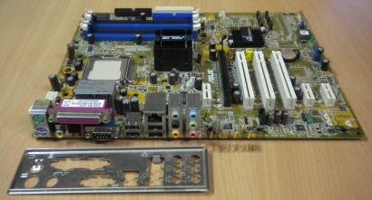Asus P5GD1 PRO rev. 1.05 mit Blende * Sockel 775 FSB800 DDR400 4x SATA *m89