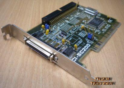 ASUS PCI-SC200 32BIT PCI SCSI 50-pin CONTROLLER*pz911
