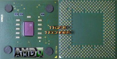 CPU Prozessor AMD Athlon XP 3200+ AXDA3200DKV4D FSB333 Sockel A/462 grün *c145