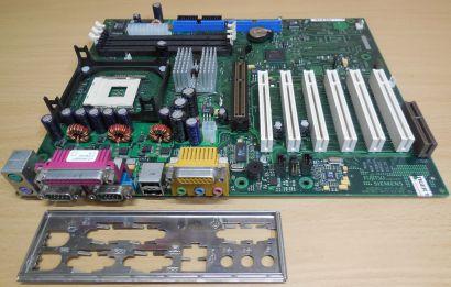 Fujitsu Siemens D1325-C11 GS 4 mit Blende Mainboard Sockel mpga478b m09
