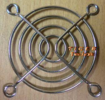 Fan Grill 60mm 60 mm 6cm Lüfter Grill Gitter silber* pz12
