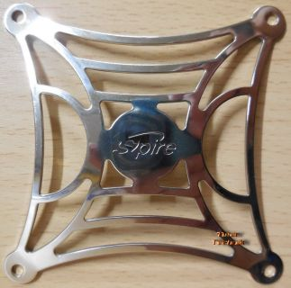 Fan Grill 80mm 8cm Lüfter Grill Gitter silber SPIRE TOP PC Computer* pz16
