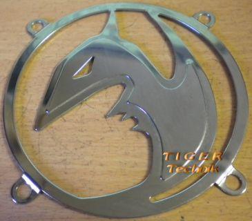 Fan Grill 80mm 80 mm 8cm * Lüfter Grill Gitter * Chrome * Monster * TOP  pz20