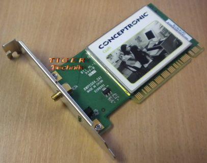 Conceptronic C54RI WLAN PCI Karte 54 Mbps* nw69