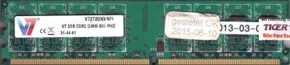 Hynix 1GB 2Rx8 PC2-5300U-555-12 HYMP512U64CPB8-Y5 AB-C 0738 Speicher* r36