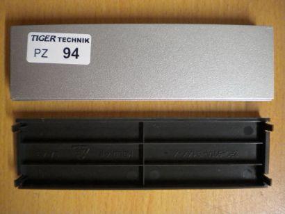 Chieftec Laufwerkplatz Abdeckung Gehäuseblende Silber 2FC-601A-CMXX-X* pz94