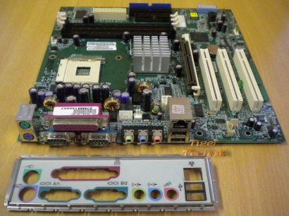 HP P5750-60001 Asus P4B-MX Mainboard Sockel 478 AGP PCI + Blende* m201