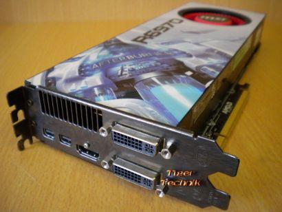 MSI AMD Radeon HD 6970-2PM2D2G 2 GB 256 Bit GDDR5 PCI-e 2.1 x16* g284