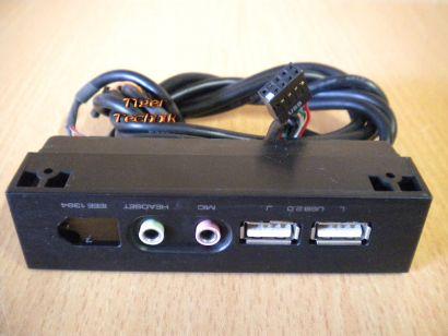 Cooler Master Elite Front Panel USB Audio 3.5 Gehäuse *pz128
