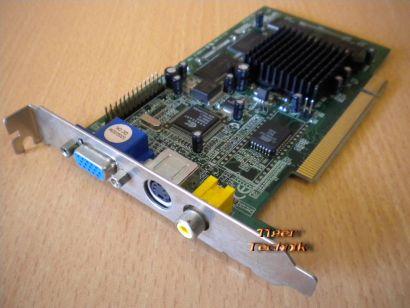 nVIDIA RIVA TNT2 M64 32MB PCI VGA VIVO S-TV Grafikkarte* g288