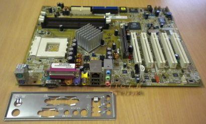 Asus A7N8X rev. 2.00 Vobis-OEM Mainboard mit Blende * Sockel 462 * m10