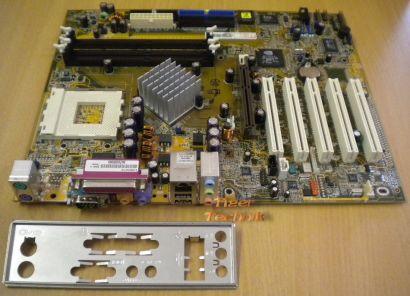Asus A7N8X rev. 1.04 Actebis-OEM mit Blende Sockel 462 m11