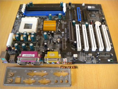 Elitegroup ECS K7S5A V3.1 Mainboard +Blende Sockel 462 A DDR oder SDRAM* m13