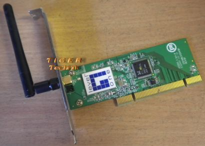 LevelOne WNC-0301 IEEE 802.11bg 54 Mbits WLAN PCI Karte* nw02