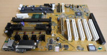 FIC SD11 Rev 1.8 Mainboard Slot A AMD 751 VIA 686A AGP PCI ISA SD-RAM* m567