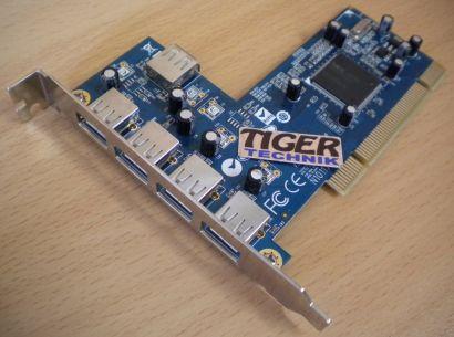 PCI USB Karte 5-Port Hi-Speed USB 2.0 Adapter Card Diverse Hersteller* sk06