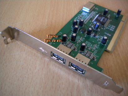 2-Port USB 1.0 1.1 PCI Adapter Card Verschiedene Hersteller Marken* sk12