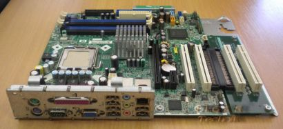 HP Compaq DC7100 SP#365865-001 AS#350929-001 + PCI Extender Card mit Schiene m23