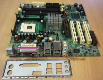 Asus P4SD-VX rev. 1.03 Mainboard Motherboard + Blende Sony Vaio Sockel 478 m25