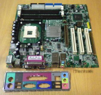 MSI Acer MS-6772 Ver: 1 Mainboard mit Blende * Sockel 478 USB2.0 LAN * m28