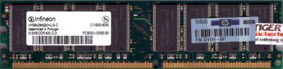Infineon HYS64D64320HU-5-C PC3200U-30330-B0 512MB DDR1 400MHz RAM* r88