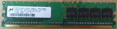 Micron MT16HTF25664AY-667E1 PC2-5300U-555-12-E0 2GB DDR2 667MHz RAM* r119