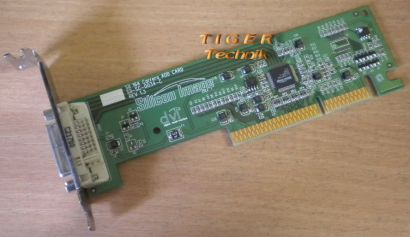 Dell 08M206 Silicon Image Sil 164 Carrera ADD Card Sil-SC-0034-C DVI AGP LP g61