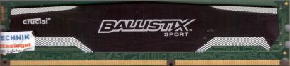 Crucial Ballistix Sport BLS4G3D1609DS1S00 PC3-12800 4GB DDR3 1600MHz RAM* r228