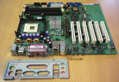 Fujitsu Siemens D1567-A22 GS 1 Mainboard mit Blende Sockel 478* m38