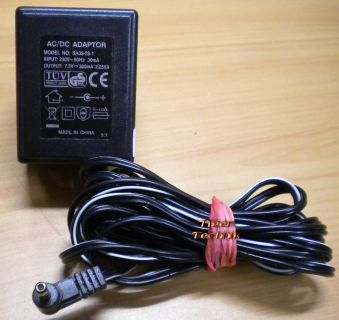 SA35-28-1 AC DC Adapter 12V 300mA Netzteil* nt765